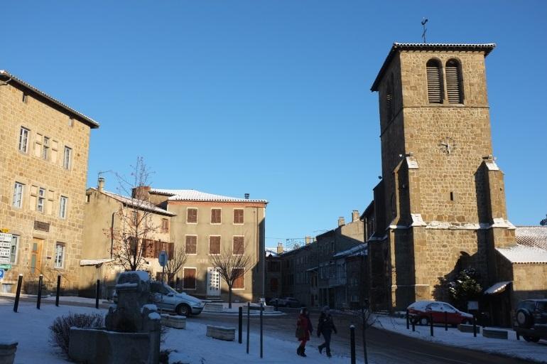 1 le centre bourg et l eglise